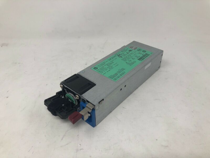 720620-B21 HP 1400W COMMON SLOT PLATINUM PLUS HOT PLUG POWER SUPPLY