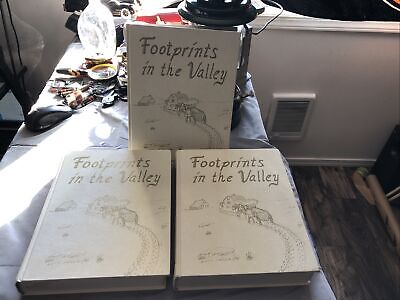 Footprints in the Valley A History of  Valley County Montana 3 Volumes-1991