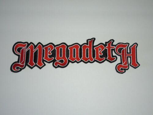 MEGADETH THRASH METAL EMBROIDERED BACK PATCH