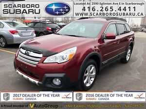 2014 Subaru Outback 3.6R Limited PKG, FROM 1.9% FINANCING AVAILA