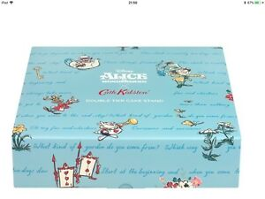 cath kidston disney alice in wonderland Cake Stand - Brand New