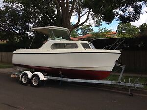 Kingston 580 Cruiser family boat mooring tender Cremorne North Sydney Area Preview