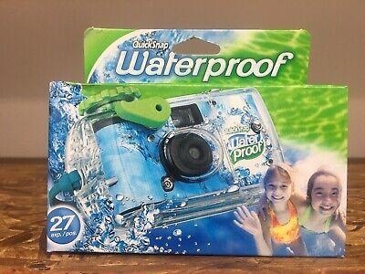 Underwater Disposable Camera Waterproof Fuji Quicksnap 27 Exposure Fujifilm 1/21