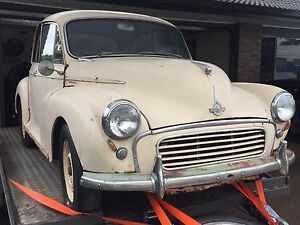 1960's Morris Minor 2 Door Coupe Ashmore Gold Coast City Preview
