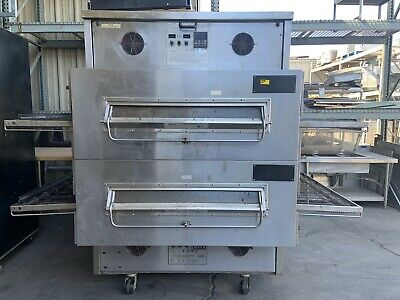 Middleby Marshall Ps360ewb-4 Double Stack Conveyor Pizza Oven