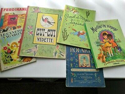 au choix:  quelques  anciens livres.....