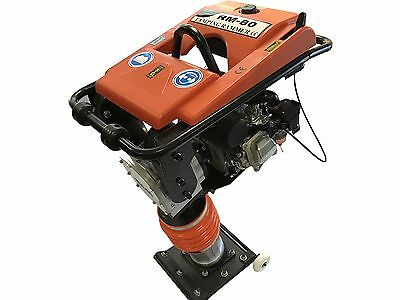 7hp Epacarb Gas Impact Rammer Jumping Jack Tamping Ram Compactor With Wheel