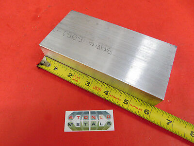 1-14 X 3 Aluminum 6061 Flat Bar 6 Long T6511 Plate Mill Stock 1.25x 3x 6