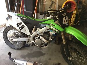 Kawasaki kxf 250 f 2015 great shape