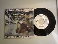The Proclaimers / Letter From America-disco Vinile 45 Giri 7, Stampa Italia1987 -  - ebay.it