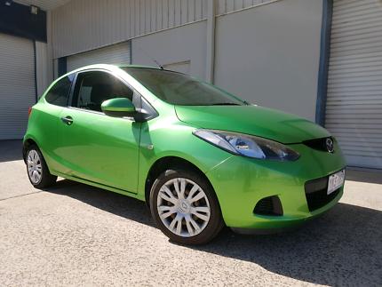 Mazda 2 2008 green