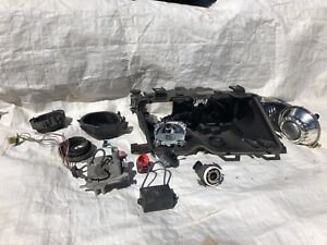 Bmw e46 facelift passenger side headlight parts