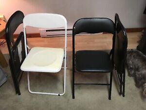 Folding Chairs 4x