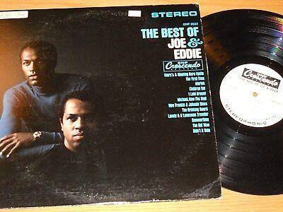 PROMO STEREO R&B/POP LP - JOE & EDDIE - CRESCENDO 2032 -