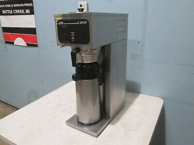 Curtis H.d. Commercial Nsf Pour-over Coffee Brewer Wair-pot Dispenser