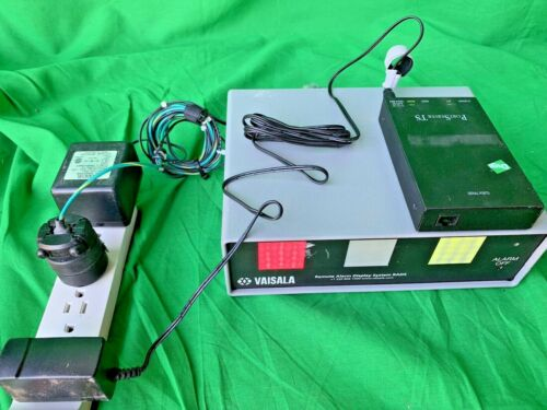 VAISALA 55112 REMOTE ALARM DISPLAY SYSTEM RADS with Power Supply Tested