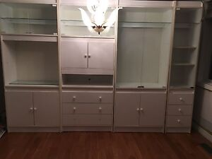 Large white wall unit/ hutch for dining room Cambridge Kitchener Area image 1