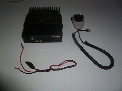 Motorola Radius 42-50 Mhz Low Band Two Way Radio W Mic Bracket D51lra9734bk Ob