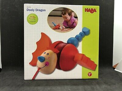 Dragon Pull Toy (Haba Toy  Dooly Dragon Pull Toy Wooden Play)