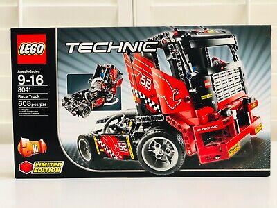 LEGO Technic Race Truck & Race Car 2-in-1 Set (8041) - New & Factory Sealed