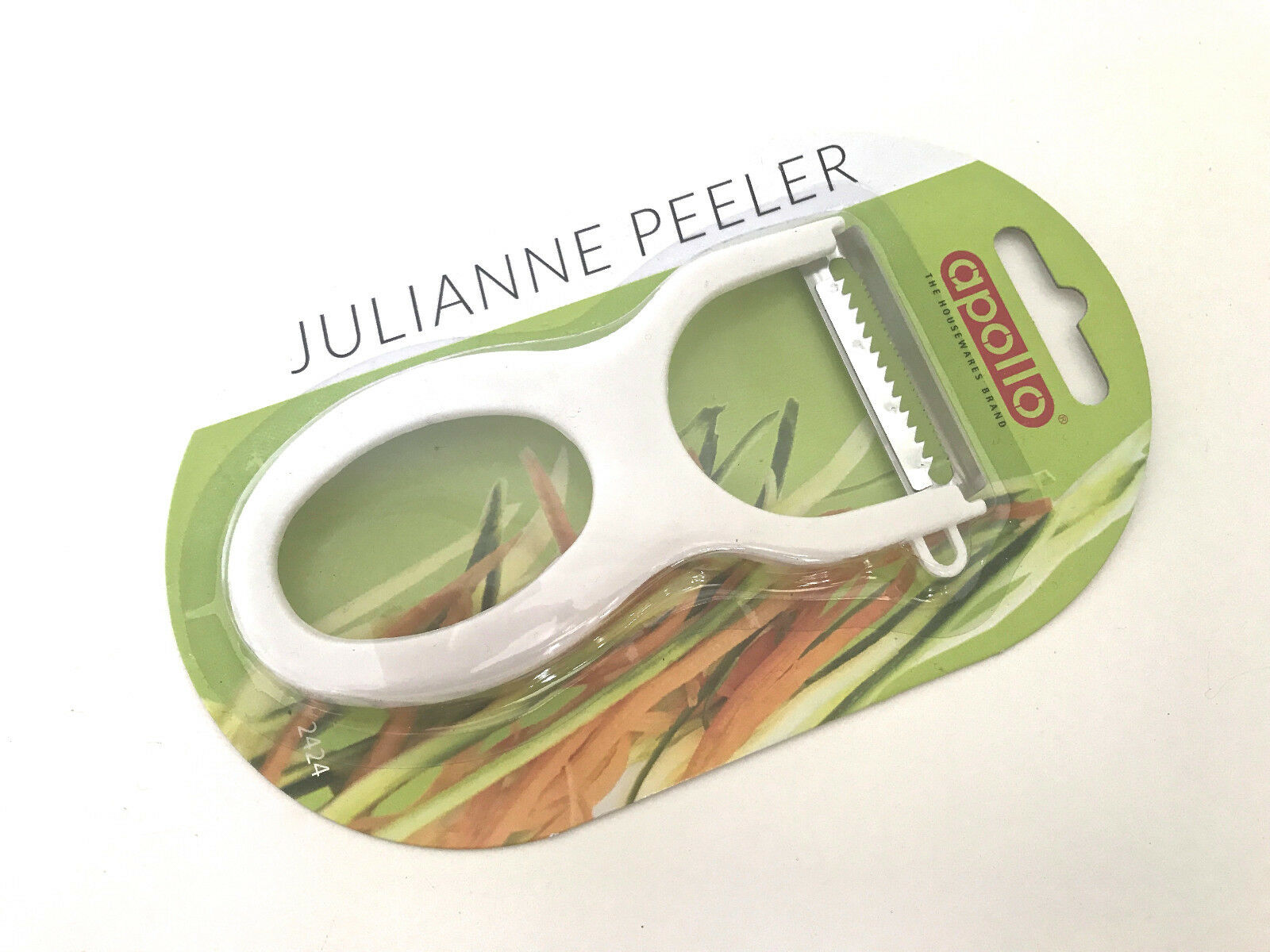 NEW Julienne Vegetable Peeler Speed Stainless Steel Blade Coleslaw Slicer Fruit