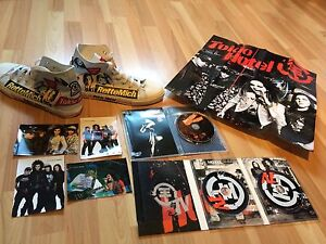 TOKIO HOTEL CONVERSE + DVDs + CDs + POSTERS