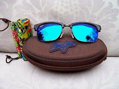 MAUI JIM KAWIKA Tortoise Brown/Blue Hawaii Polarized Sunglasses ~~ B257-16C (Maui Brown)