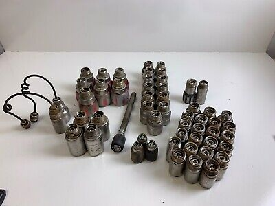 Lot Of 54 Pipe Drainsewer Inspection Camera Heads Different Models D46 D34-c..