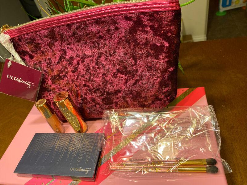 Ulta Gift Bag Plus 5 More Items As Shown - 8 Piece Eye Shadow Palette Sealed