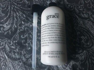 Philosophy Pure Grace Shampoo, Bath and Shower Gel 32 oz Bath Shower Shampoo Gel