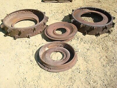 Ford 9n 2n Tractor Front Rear Steel Wheels