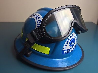 01 Morning Pride Rh-plus Usar Fire Firefighter Paramedic Rescue Helmet Rare