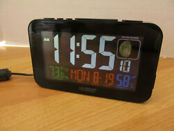 La Crosse Technology C87201 Color Alarm Clock