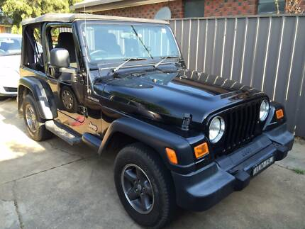 2005 Jeep Wrangler Convertible Turvey Park Wagga Wagga City Preview