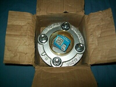 New Watts 3 Lf3100-m3 Dielectric Flanged Fitting 175 Psi Sweat Flanged Union