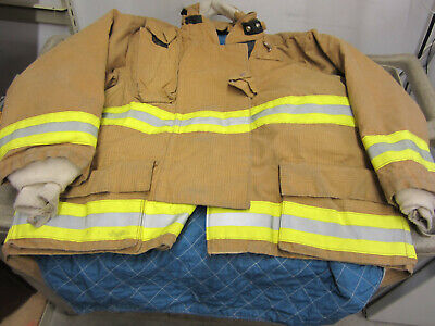Size 50 2834 31 Morning Pride Fire Fighter Turnout Jacket Excellent  12