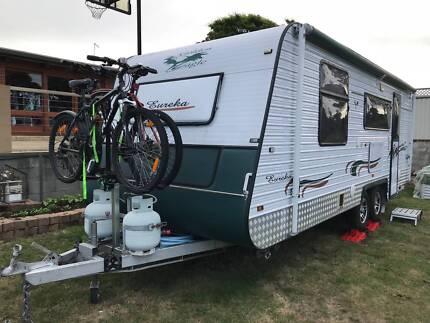 2011 Golden Eagle Eureka 21.6 Foot Caravan with Ensuite and Solar