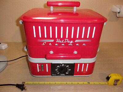 Cuizen Electric Hot Dog Steamerbun Warmer Tested And Works