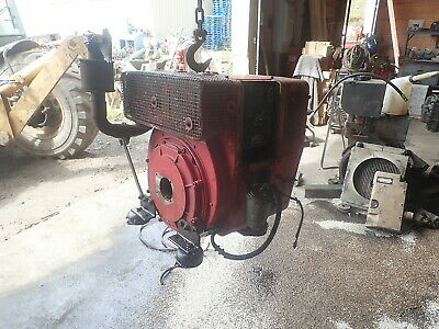 Hatz 1L41C Silent Pak Diesel Engine RUNS GOOD! 1 CYL POWER UNIT 1L40