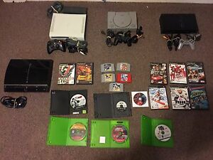 Ps1, ps2,PS3,Xbox 360 system & game lot