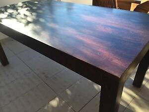 Solid Oak Dining Table and 6 chairs Centennial Park Eastern Suburbs Preview