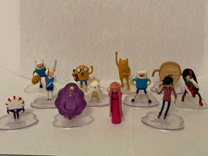 Adventure Time 2 inch Figurines Set of 12
