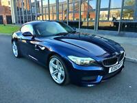BMW Z4 SDRIVE 3.0I SDRIVE M SPORT 1 FORMER OWNER 77K FDSH SAT NAV