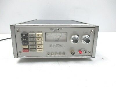S.h.e. Corporation Model 30 Squid Control Analog Meter Vintage Lab Rf 1-10 Volts
