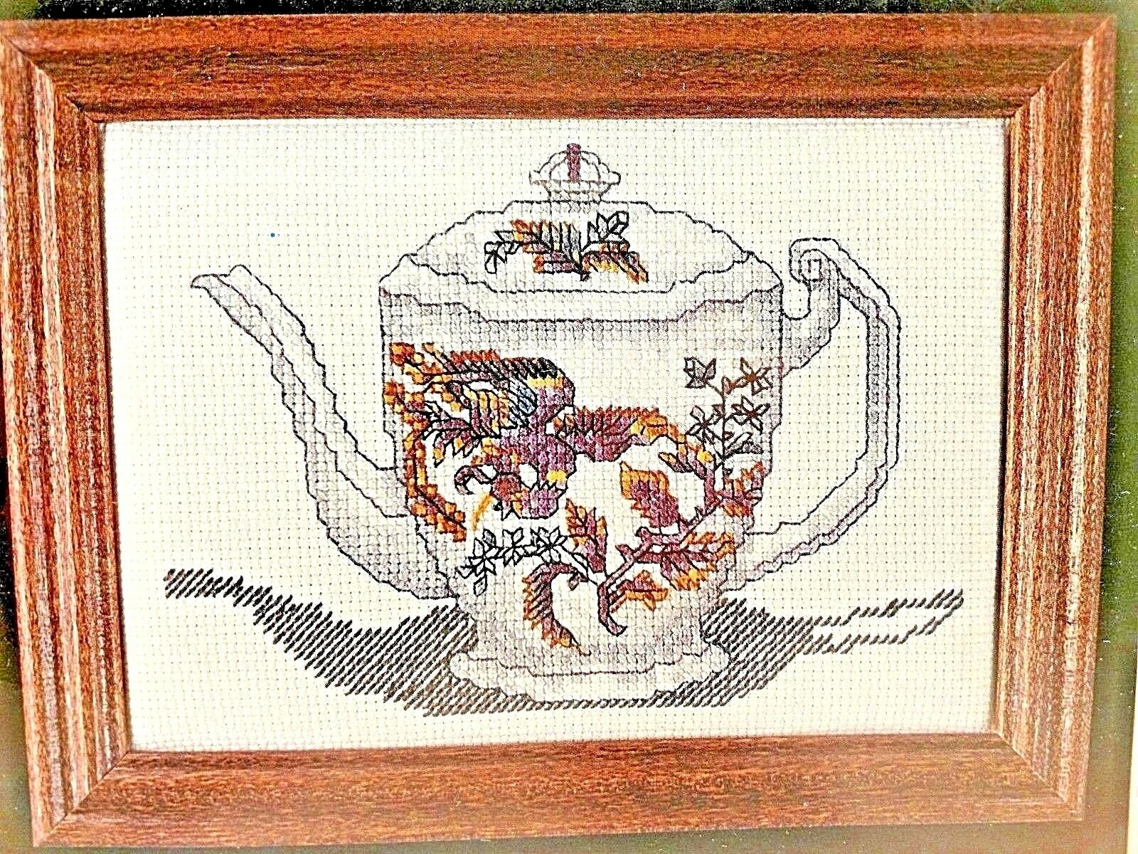 Oriental Phoenix Teapot Cross My Heart Counted Cross Stitch