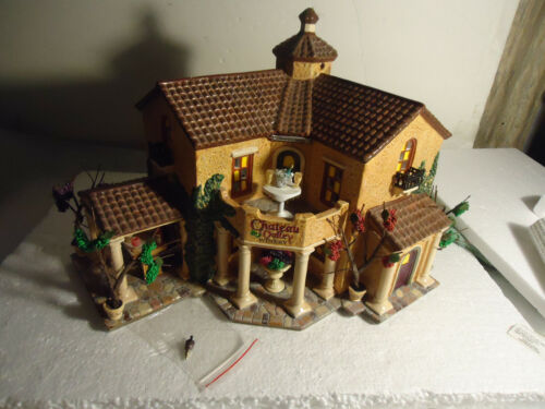 """Dept 56 """" CHATEAU VALLEY WINERY """""""