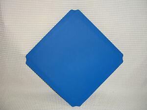 40x40 blaue PLATTEN QUADRO NEU für Stühle + Möbel BLAU 00302 Platte