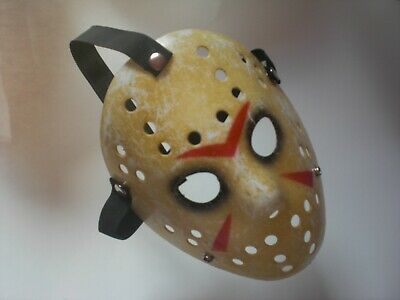 – Original Jason Voorhees Hockey-Maske Replica (Jason Voorhees Original Maske)