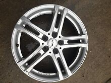 Rial German 18x8 +48 offset alloy wheels 5x114.3 Panorama Mitcham Area Preview