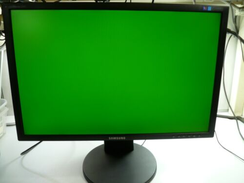 SAMSUNG SyncMaster  2443BWT LCD MONITOR BLACK 24 INCH - TESTED & WORKING